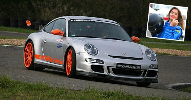 Essai passion Porsche GT3 et GT3 RS : signée Margot !