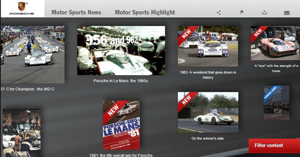 Porche ouvre un site en vue de son retour au Mans en 2014
