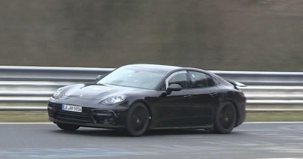 La nouvelle Porsche Panamera déjà sur le Nürburgring