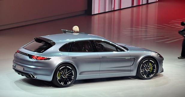 La Porsche Panamera Sport Turismo sera à Paris