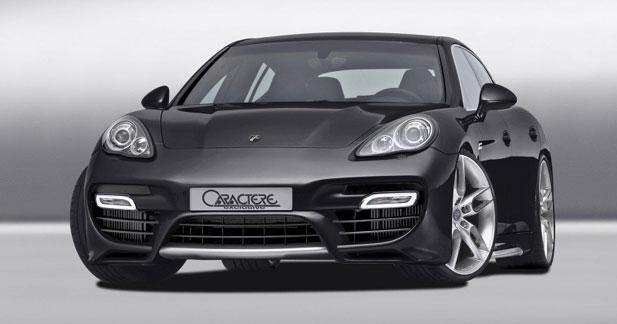 Porsche Panamera Turbo par Caractère Exclusive : 605 chevaux !