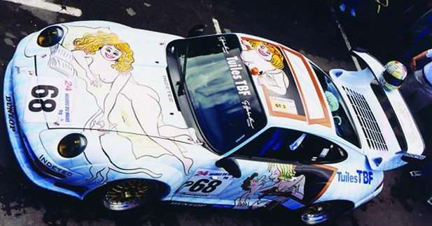 La Porshe 911 GT2 décorée par Wolinski