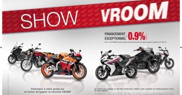 Portes Ouvertes Honda 2013 : gagnez une CB500F ABS