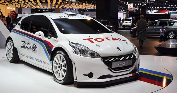 Ari Vatanen découvre la Peugeot 208 Type R5