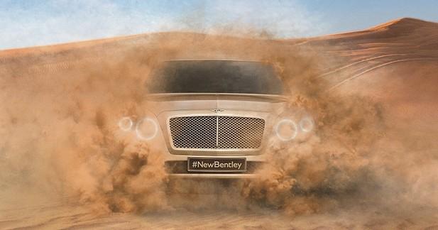 Plus de 300 km/h pour le futur SUV Bentley ?