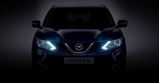 Le Nissan Qashqai 2 entame les présentations