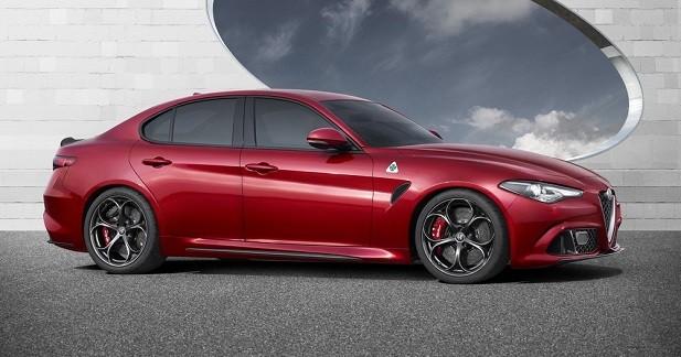 La Giulia QV aussi puissante que l'AMG C63 S