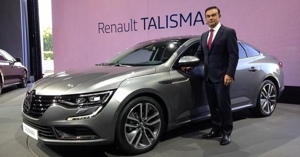 Renault Talisman: le losange voit grand
