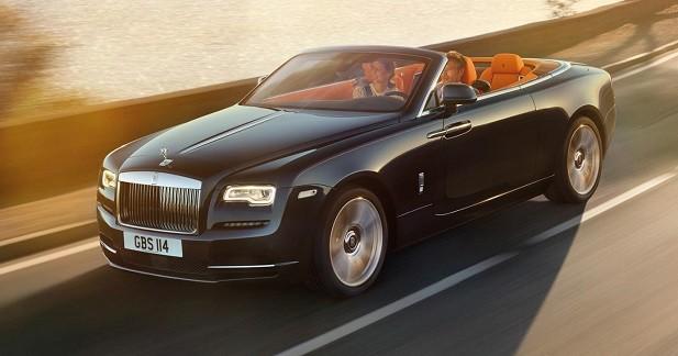 La Rolls-Royce Dawn se découvre
