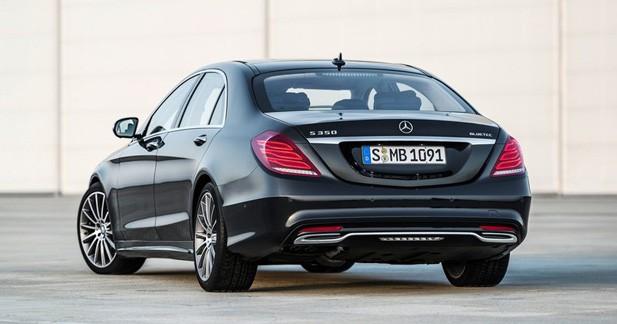 La Mercedes Classe S annonce ses tarifs