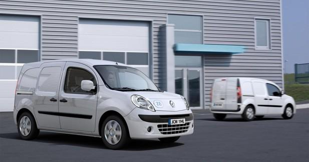 Renault Kango ZE : à partir de 15 000 euros HT