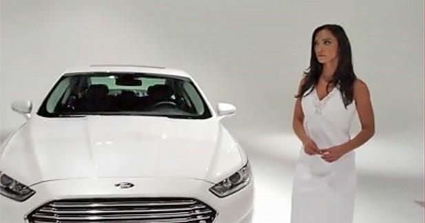 Prochaine Ford Mondeo : ses lignes commentées de façon sexy et insolite