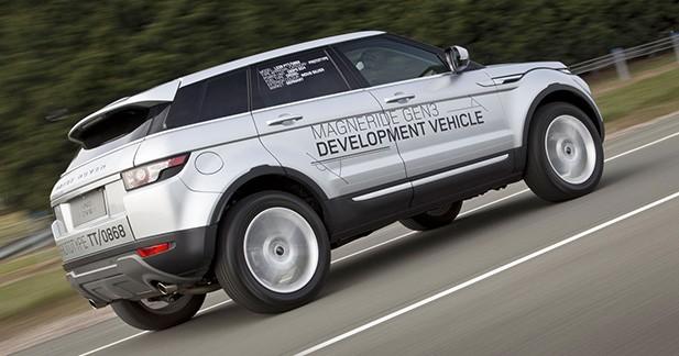 Jaguar-Land Rover à l'assaut des nids-de-poule