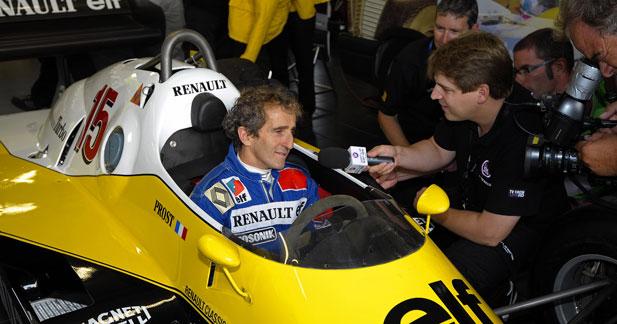 Alain Prost prolonge son partenariat avec Renault pour s'investir en F1