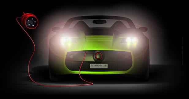 Protoscar Lampo2 : en prise avec la Tesla Roadster