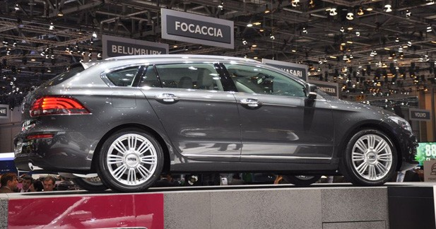 Qoros 3 Estate Concept : L'offensive chinoise
