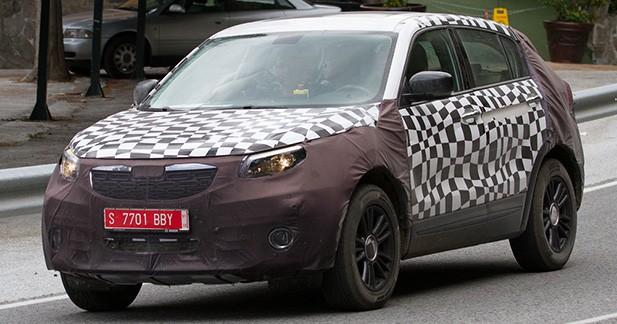 Spyshot: première sortie pour le Qoros SUV