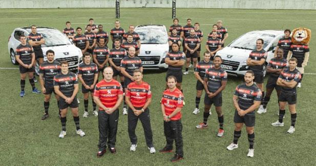 Peugeot lance une campagne avec le Stade Toulousain