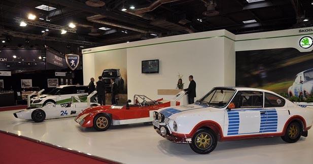 Rétromobile : hommage à la compétition automobile chez Skoda