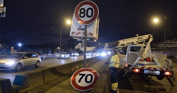 Moins d'accidents, mais une augmentation de la vitesse moyenne