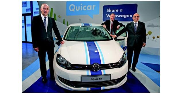 Volkswagen lance son offre d'auto partage en Allemagne