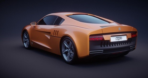 Un mélange d'Audi, de Bentley et de Lamborghini