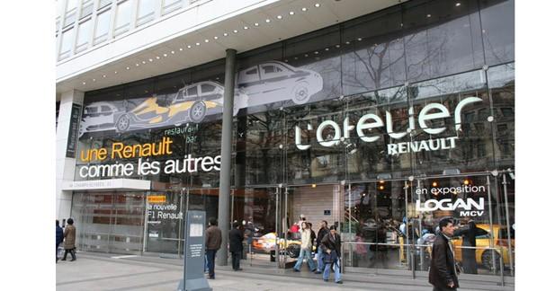 L'Atelier Renault ferme pour travaux