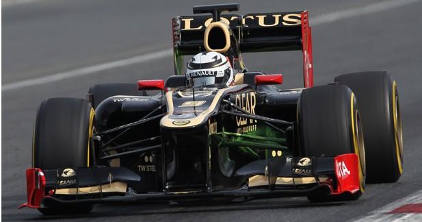 Kimi Raikkonen remporte le premier GP de la saison 2013 de F1