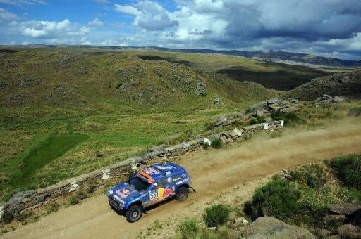 Rallye Dakar: vitoire finale du pilote du Qatar Al-Attiyah