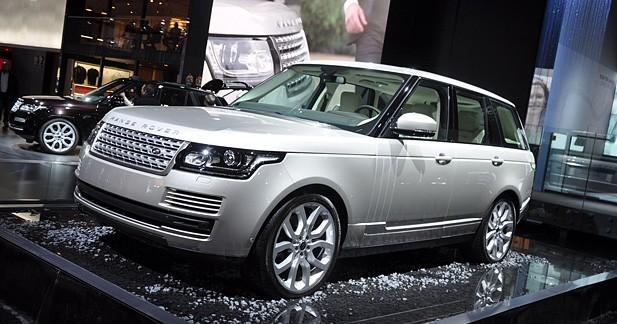 Range Rover 2012 : le pari de l'aluminium