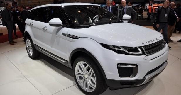 Range Rover Evoque: nouveau regard et moteur de Jaguar XE