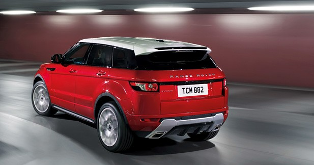 range rover evoque 5 portes la fibre familiale. Black Bedroom Furniture Sets. Home Design Ideas