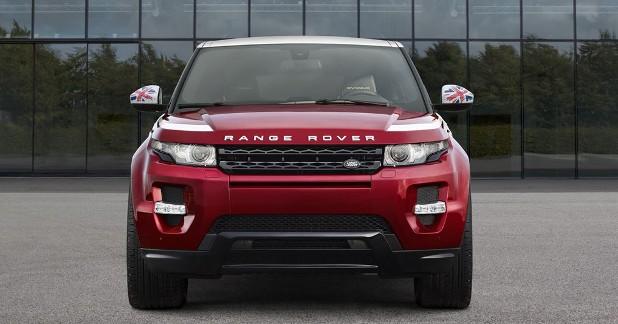 Mondial Auto 2014 : Range Rover Evoque British Edition, patriotisme exacerbé