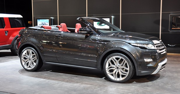 range rover evoque cabriolet concept classe d couverte. Black Bedroom Furniture Sets. Home Design Ideas
