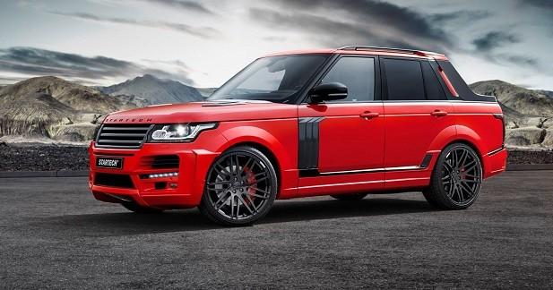 Le Range Rover se prend pour un pick-up grâce à Startech