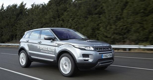 Une boite automatique à 9 rapports pour le Range Rover Evoque