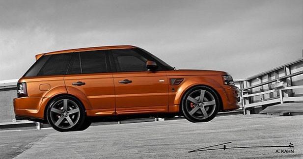 Kahn Design revisite le Range Rover