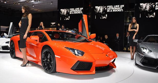 Lamborghini rappelle 144 Aventador