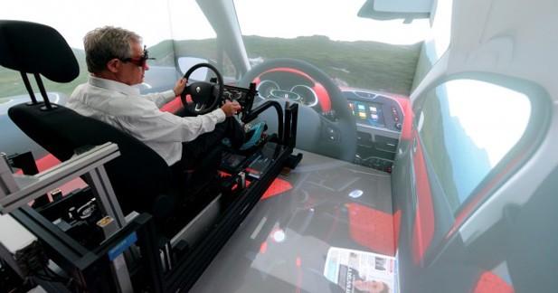 Un nouveau simulateur 3D pour Renault
