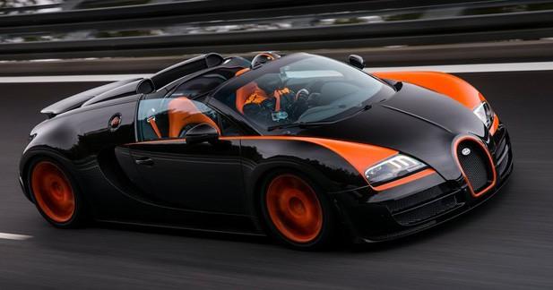 La Bugatti Veyron Grand Sport Vitesse est la découvrable la plus rapide au monde