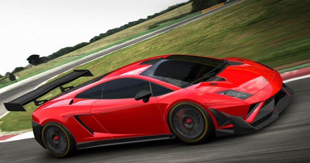 Lamborghini aventador gt3