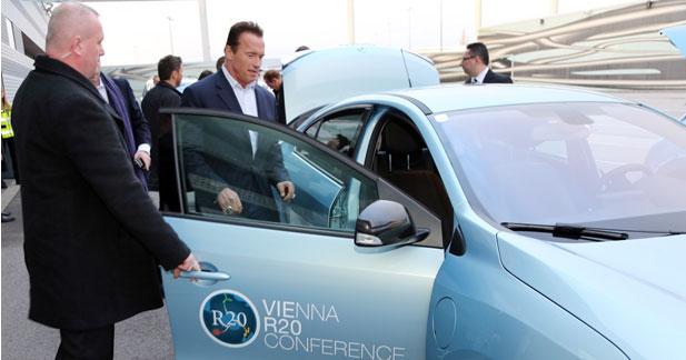 L'Alliance Renault-Nissan soutient l'action d'Arnold Schwarzenegger