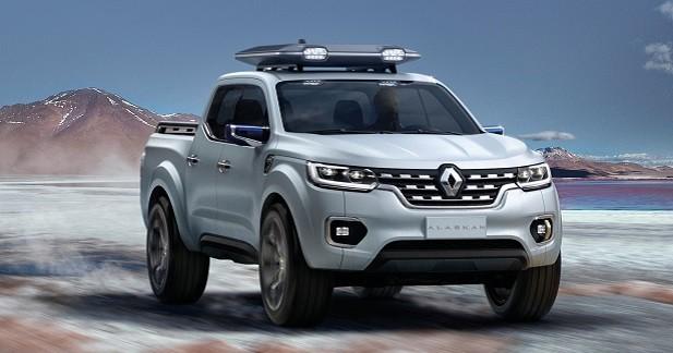 Renault Alaskan Concept: le losange se met au pick-up