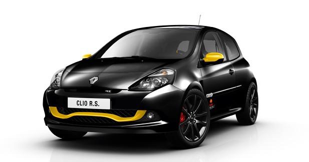 Renault Clio RS Red Bull Racing RB7 : Une Clio RS célèbrant la F1