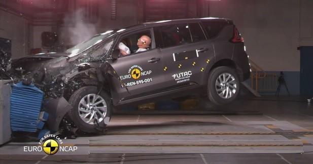 Cinq étoiles EuroNCAP pour le nouveau Renault Espace