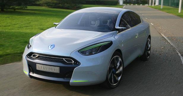 Renault Fluence Z.E. Concept : nous l'avons conduit