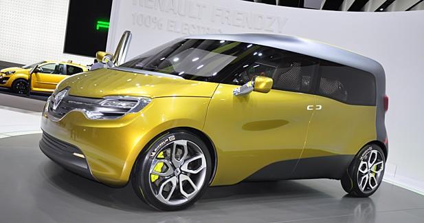 Renault Frendzy Concept : Dédoublement de personnalité
