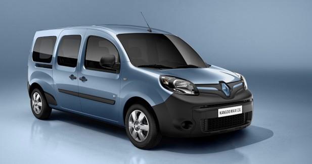 Renault Kangoo et Kangoo Maxi ZE: Un air de Zoé