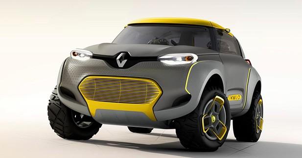 Le Renault KWID Concept intègre un drone de compagnie