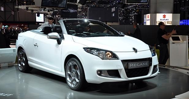 Nouvelle Renault Mégane 3 CC : en trompe l'œil